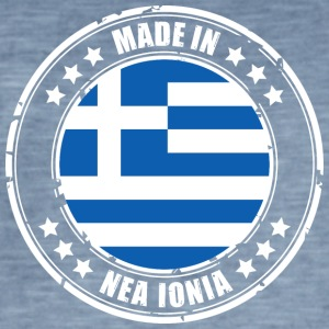 MADE IN NEA IONIA - Männer Vintage T-Shirt