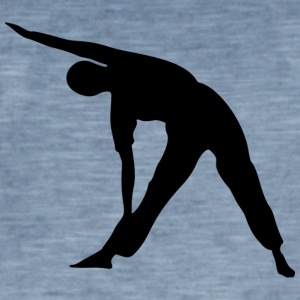 Yoga exercise - Men's Vintage T-Shirt