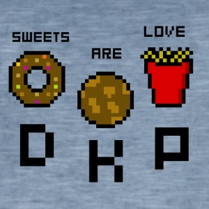 Sweets Are Love - DKP - Men's Vintage T-Shirt