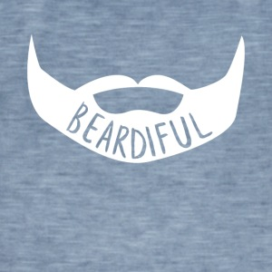 Beardiful v4 - Mannen Vintage T-shirt