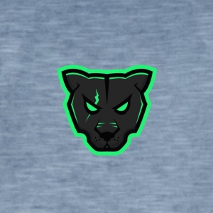 Panther Mascot - Men's Vintage T-Shirt
