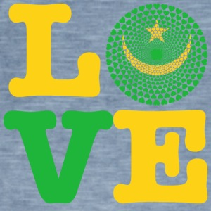 MAURITANIA HEART - Men's Vintage T-Shirt