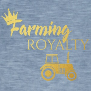 Farmer / Farmer / Bauer: Farming Royalty - Men's Vintage T-Shirt