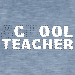 Professeur / École: cool Teacher - T-shirt vintage Homme