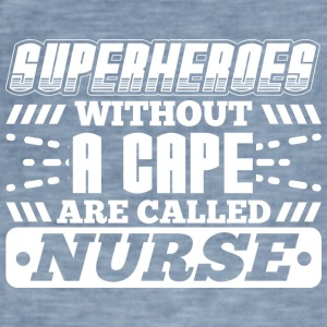 SUPERHEROES NURSE - Men's Vintage T-Shirt