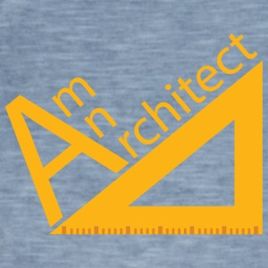 Architect / Architectuur: ben architect - Mannen Vintage T-shirt