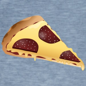 pizza slice - Vintage-T-skjorte for menn
