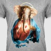 Elephant Jesus - Men's Vintage T-Shirt