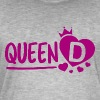 Queen D - Men's Vintage T-Shirt