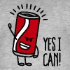 Yes I can - T-shirt vintage Homme