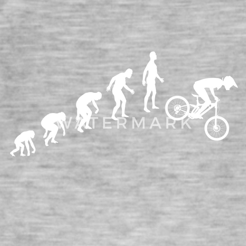 Downhill Evolution - Männer Vintage T-Shirt