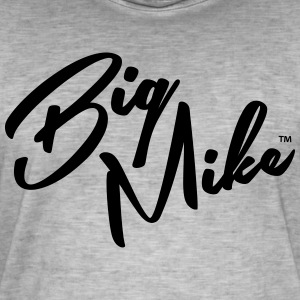 BIG MIKE - Vintage-T-skjorte for menn