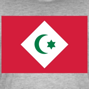 Flagg Republikken Rif - Vintage-T-skjorte for menn