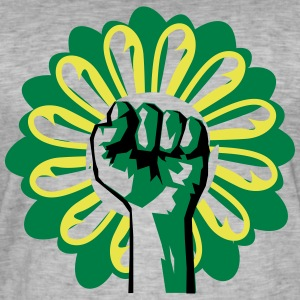 Flower Revolution - Men's Vintage T-Shirt