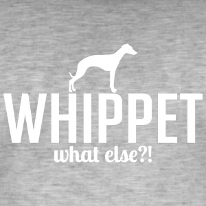 WHIPPET whatelse - Mannen Vintage T-shirt
