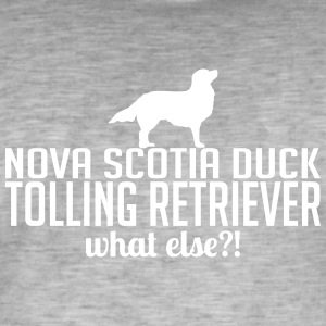 Nova Scotia Duck Tolling Retriever what else - Männer Vintage T-Shirt