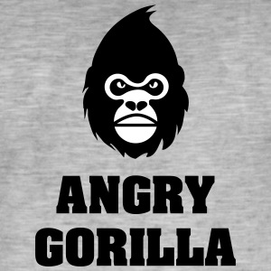 angry_gorilla - Herre vintage T-shirt