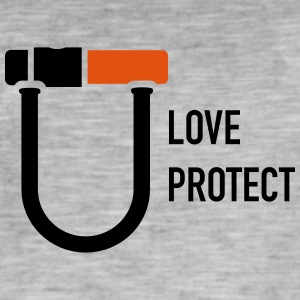 uloveuprotect - Vintage-T-shirt herr
