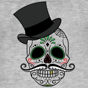 Day of the dead - Männer Vintage T-Shirt