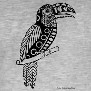toucan - Vintage-T-skjorte for menn