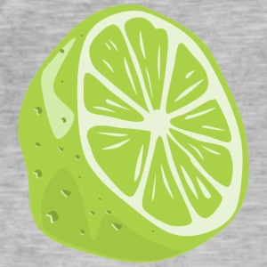 lime - Vintage-T-skjorte for menn