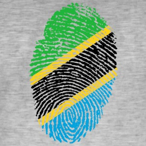 Fingerprint - Tanzania - Men's Vintage T-Shirt