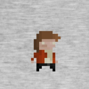 pixel Player - Vintage-T-shirt herr