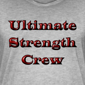 Ultimate Strength Crew - Men's Vintage T-Shirt