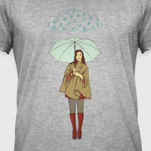 rain woman - Men's Vintage T-Shirt