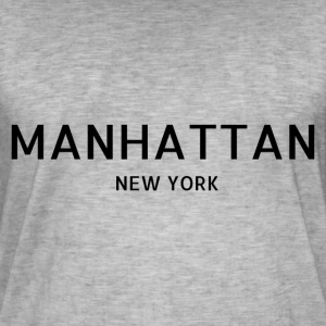 Manhattan - Vintage-T-shirt herr