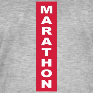 marathon - Men's Vintage T-Shirt