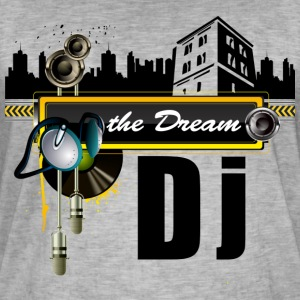 THE DREAM DJ - Men's Vintage T-Shirt