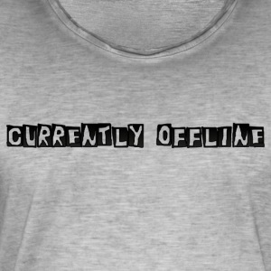 Currently Offline - Vintage-T-shirt herr