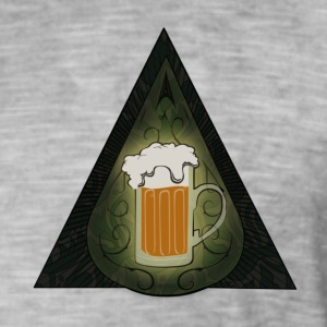 Secret Society of Beer Turgot - Vintage-T-skjorte for menn