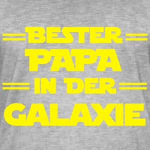 Best PAPA in the galaxy - Men's Vintage T-Shirt