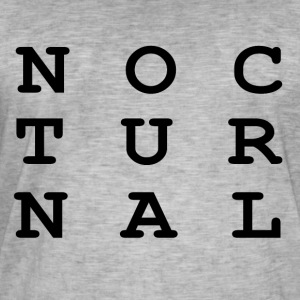 Nocturnal.. - Men's Vintage T-Shirt