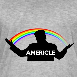 Americle - T-shirt vintage Homme