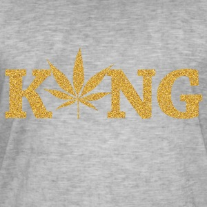 marijuana King - Men's Vintage T-Shirt