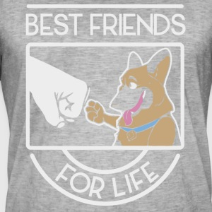 Dog best friends for life shirt - Men's Vintage T-Shirt