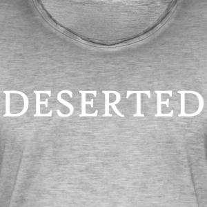 DESERTED: The Story of Peter - Men's Vintage T-Shirt