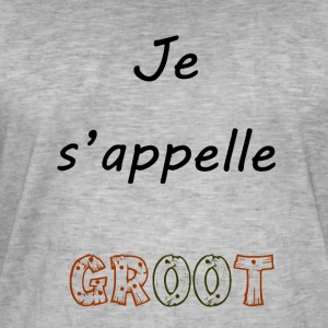groot - T-shirt vintage Homme