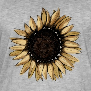 Sunflower byStray - Herre vintage T-shirt