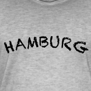Hambourg - T-shirt vintage Homme