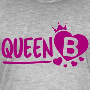 Queen B - T-shirt vintage Homme