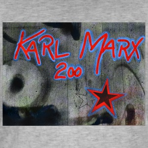 marx grafitti - Men's Vintage T-Shirt