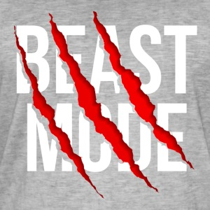 Beast Mode - Men's Vintage T-Shirt