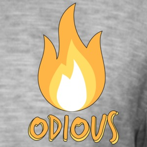 odious flame outlined - Men's Vintage T-Shirt