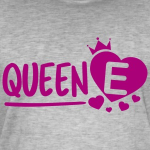 Queen e - Men's Vintage T-Shirt