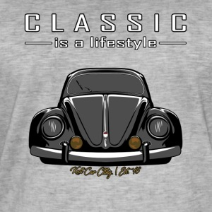 Classic is een lifestyle - Mannen Vintage T-shirt