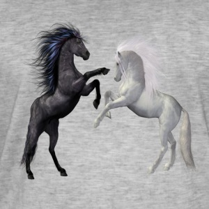 Horse love - Men's Vintage T-Shirt